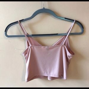Divided Tops - DIVIDED by H&M | LIGHT PINK CROPPED TANK